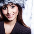 Smiling Winter Girl — Stock Photo #31752163