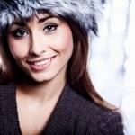 Smiling Winter Girl — Stock Photo #31752163