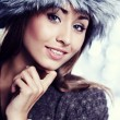 Smiling Winter Girl — Stock Photo #31752167
