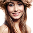 Smiling Winter Girl — Stock Photo #31752259