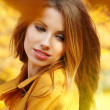 Autumn woman  — Stock Photo #33317203