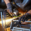 Welding sparks — Stock Photo #33751523