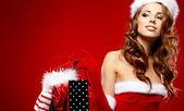 Christmas holidays shopping  — Stock Photo