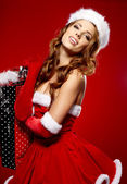 Christmas holidays shopping — Foto de Stock