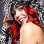 Winter woman portrait — Stock Photo #35230817
