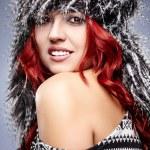Winter woman portrait — Stock Photo #35230821