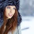 Young woman in winter — Stock Photo #36240263