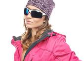 Mujer hermosa en ropa de invierno — Foto de Stock