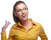 若いビジネス女性 — ストック写真