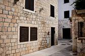 Medieval croatia village — Stock Photo