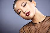 Mixed race Chinese Asian — Stock Photo