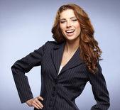 Mulher de negócios jovem — Fotografia Stock