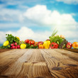 Vegetable background — Stock Photo #39673955