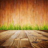 Nice wooden floor background — Stock Photo