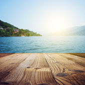 Wood textured backgrounds on the Goa landscape — Stock Photo