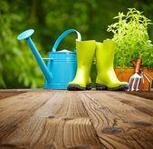 Gardening tools — Stock Photo