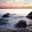 Stock Photo: Croatia, adriatic sesunset