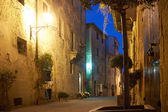 Old Town Pienza — 图库照片