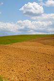 Landschaft in der Toskana — Stockfoto