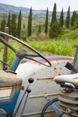 Old tractor details — Stock Photo
