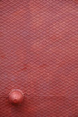 Vintage red steel background — Stock Photo
