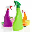 Cleaning product plastic container — Stock Photo #50037409
