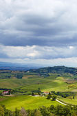 Beautiful Italy Tuscan landscape  — Stock Photo
