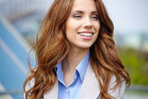 Real Estate Agent Woman — Stock Photo