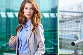 Attractive Real Estate Agent Woman  — Stock Photo