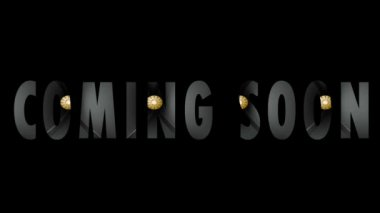 Coming soon — Stock Video