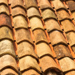 The texture of old tiled roof — Stock Photo #12523828