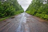 Bumpy road — Stock Photo
