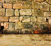 Interior de pedra antiga — Foto Stock