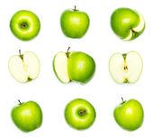 äpfel-sammlung — Stockfoto