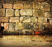 Antik taş iç — Stok fotoğraf