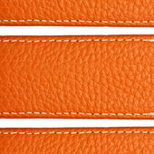 Brown leather texture close up — Stock Photo