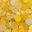 Ukrainian coins background — Stock Photo