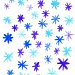 Winter background with snowflakes — Stock Photo #15769205