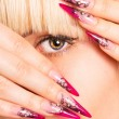 Nice manicure — Stock Photo