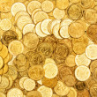 Background of the coins - Stock Photo
