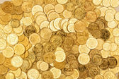 Background of the coins — Foto de Stock