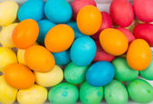 Easter eggs background — Stock Photo