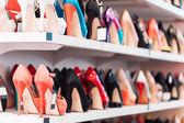 Arka plan ayakkabılar ile — Stok fotoğraf