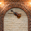 Stock Photo: Element of interior with violin