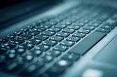 Keyboard closeup — Stock Photo