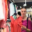 Woman in a clothing store — Stock Photo #29730021