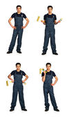 Collection repairman — Stock Photo