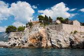 Island of Sveti Stefan, Montenegro — Stock Photo