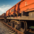 Rail freight car — Stock Photo #32358207