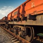 Rail freight car — Stock Photo #32358207